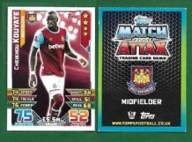 West Ham United Cheikhou Kouyate Senegal 354